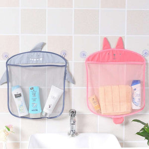 Baby Mesh Bath Toy Storage Bag for Wall - ChildAngle