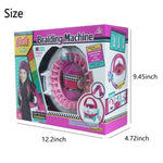 Load image into Gallery viewer, Braiding Machine Hand Knitting Loom Kit Children Educational Toy (22 Needles)