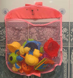 Load image into Gallery viewer, Baby Mesh Bath Toy Storage Bag for Wall - ChildAngle