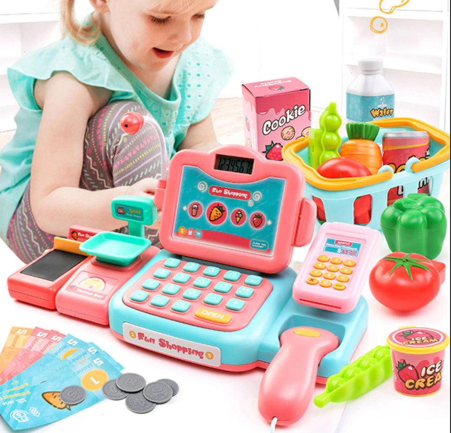 24 PCS Kids Cash Registers