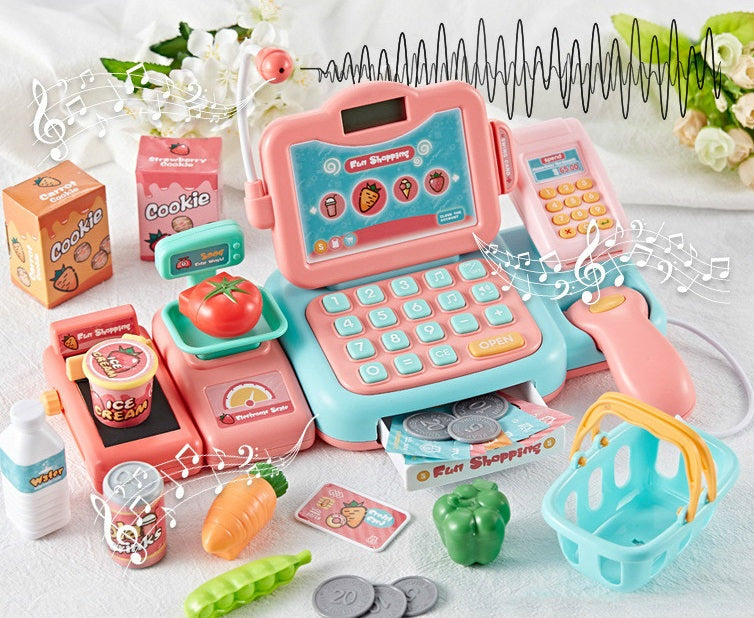 Supermarket Grocery Cash Register Pretend Play