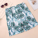 Load image into Gallery viewer, Family Swimwear Swimsuit Green Leaves Printing