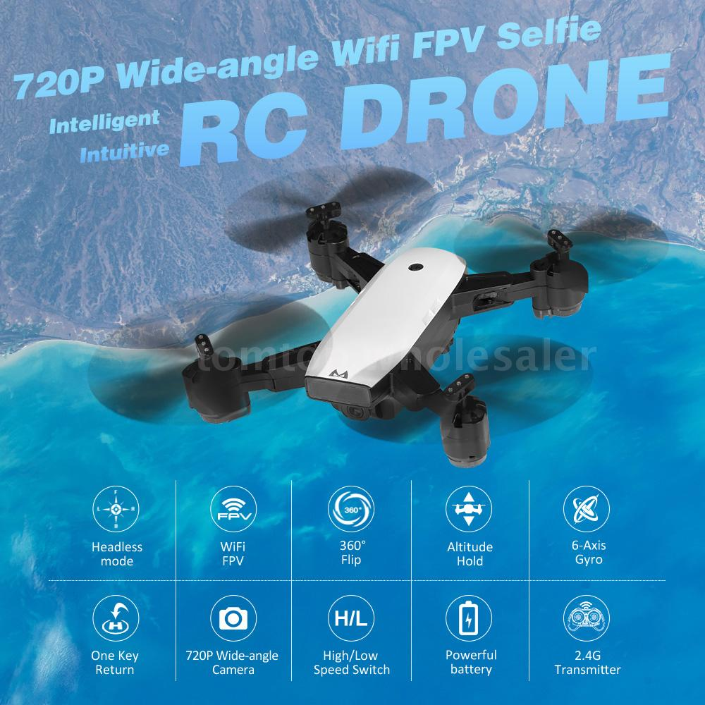 FPV Quadcopters Folding RC Drone With HD 1080P Wifi Camera - ChildAngle