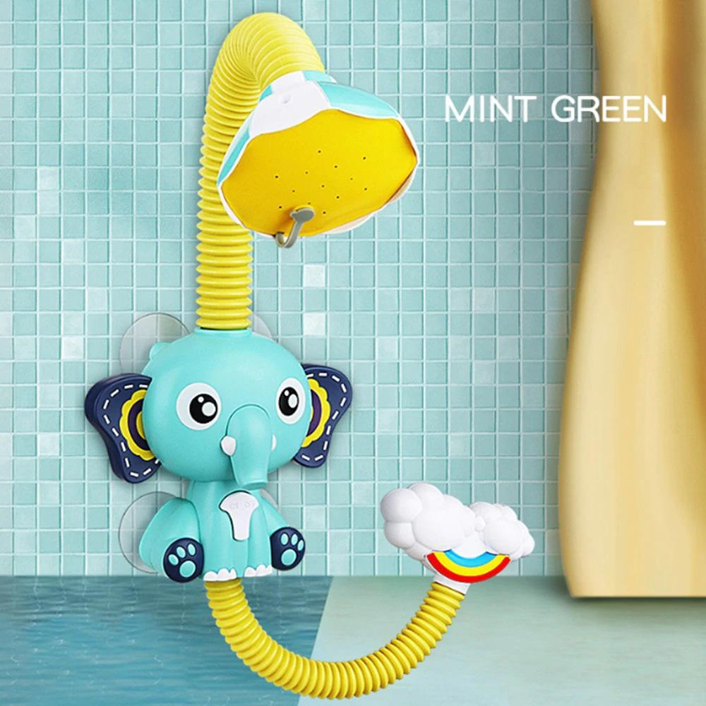 Baby Shower Toys Electric Elephant Bath Toys Spray - ChildAngle