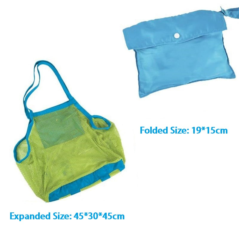 Mesh Portable Beach Toys Storage Bags