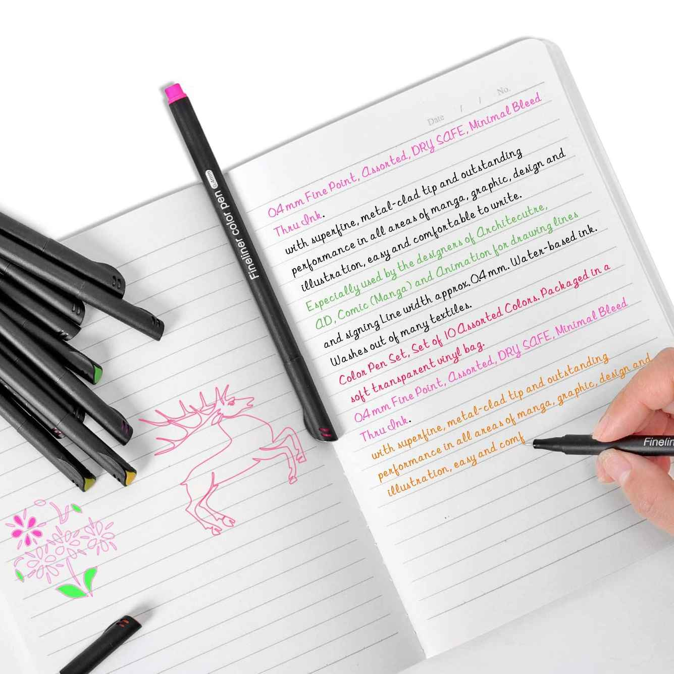 Best Coloured Pens for Note Taking