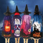 Load image into Gallery viewer, Kids Halloween Costumes Witch Cloak with Hat Cape Pumpkin Skull Children Teens
