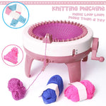 Load image into Gallery viewer, Kids Knitting Machine 40 Needles Hand Crank