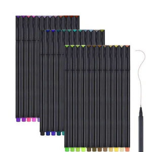 Fine Tip Markers Bullet Journal Marker Pen Set