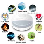 Load image into Gallery viewer, Nature Soothing Baby Sound Machine White Noise Machine for Baby