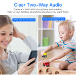 Load image into Gallery viewer, Wireless Baby Monitor 1080P WIFI Nursery Camera APP Control