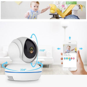 4MP Wifi Baby Monitor IP Camera 2.4G/5Ghz IR Night Vision Motion Detection - ChildAngle