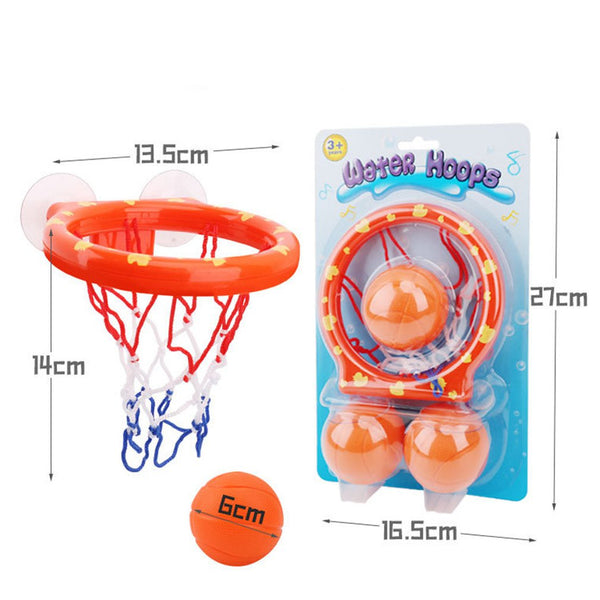 Toddlers Bath Toys Basketball Hoop and 3 Balls Playset