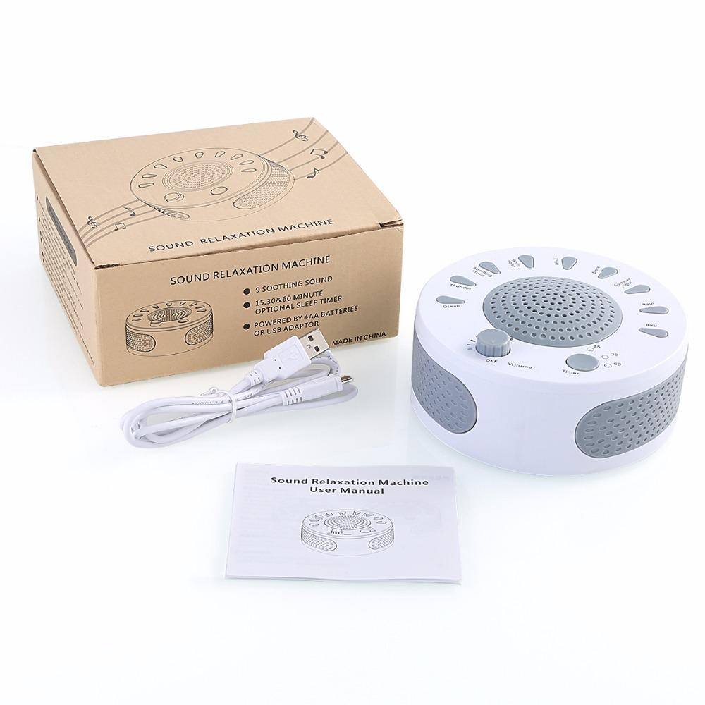 Baby Sleep Soothers Sound Machine White Noise - ChildAngle