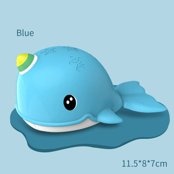 Whales Baby Bath Toys Clockwork Dabbling Shower Water Toy