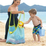 Load image into Gallery viewer, Portable Mesh Beach Toy Bag Children Toy Storage Totes