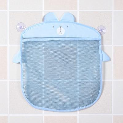 Baby Mesh Bath Toy Storage Bag for Wall