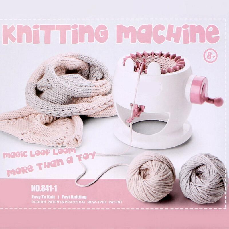 22 Needles Knitting Machine DIY Hand Knitting Loom For Kids Scarf Hat Sock