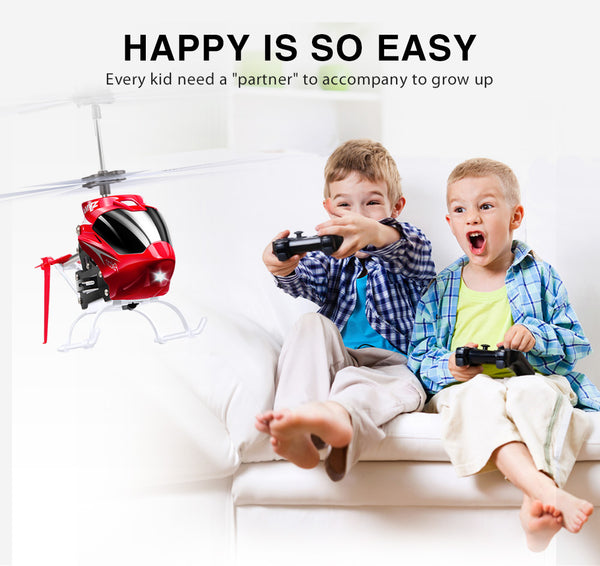 SYMA W25 2CH RC Helicopter Small Shatterproof - ChildAngle