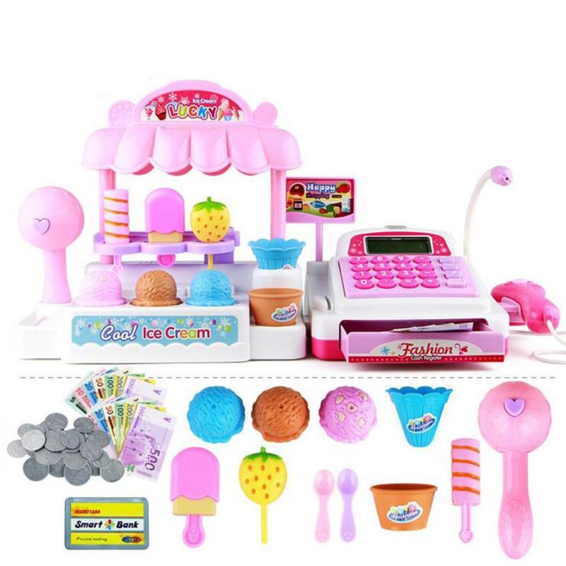 Ice Cream Store Cash Register Toy Set - ChildAngle