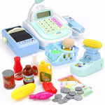 Load image into Gallery viewer, 47PCS Pretend Play Cash Register Set - ChildAngle