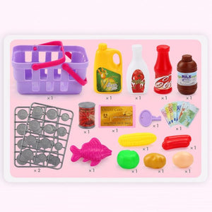 47PCS Pretend Play Cash Register Set - ChildAngle