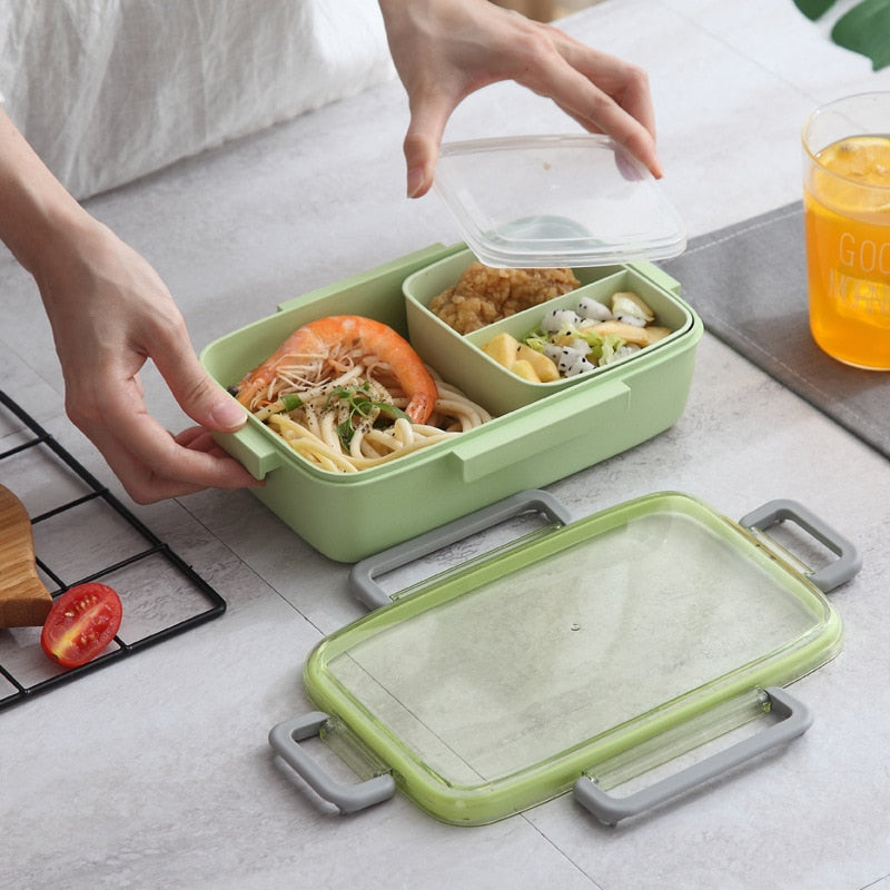 Compartments Kids Bento Box for Picnic - ChildAngle