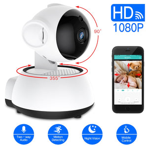 Wireless Baby Monitor 1080P WIFI Nursery Camera APP Control