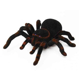 RC Spider Halloween April Fool's Day Simulation Plush Tarantula Remote Control Soft Prank Toys