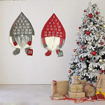 Load image into Gallery viewer, Advent Calendar Hanging Cloth Faceless Santa Christmas Xmas Wall Decor