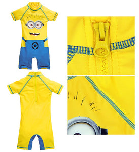Minions Batman Captain America Baby Swimsuits