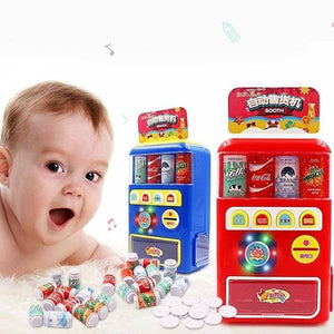 Beverage Drink Toy Play Vending Machine Sets Kids Simulation Register Toy - ChildAngle