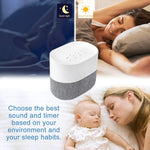 Load image into Gallery viewer, White Noise Machine Baby Sleeping Sound Machine Rechargeable Battery