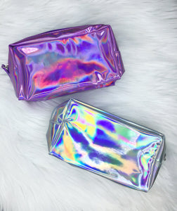 Holographic Makeup Bags