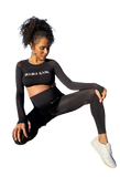 Pre-Order Mama Gang long sleeve active set