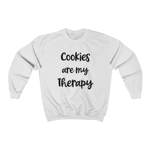 Cookies are my Therapy Gildan 18000 Unisex Heavy Blend™ Crewneck Sweatshirt
