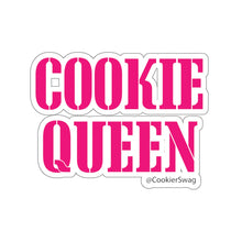 Load image into Gallery viewer, Cookie Queen Pink Kiss-Cut Sticker