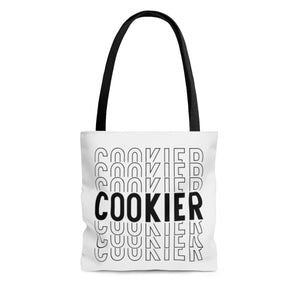 (a) Cookier Repeating AOP Tote Bag