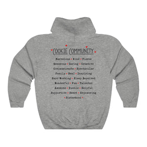 I Love Cookies/Cookie Community Unisex Heavy Blend™ Hooded Sweatshirt