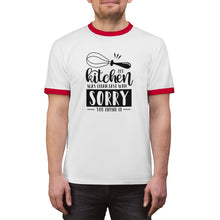 Load image into Gallery viewer, My Kitchen Was Clean Last Week Unisex Ringer Tee