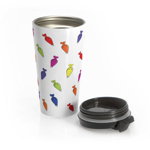 Piping Bag Stainless Steel Travel Mug