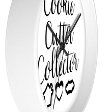 Load image into Gallery viewer, Cookie Cutter Collector Wall clock