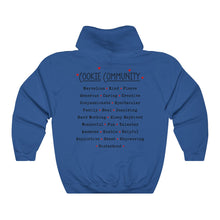 Load image into Gallery viewer, I Love Cookies/Cookie Community Unisex Heavy Blend™ Hooded Sweatshirt