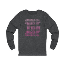 Load image into Gallery viewer, Pink Ombre Kitchen Mixer Bella+Canvas 3501 Unisex Jersey Long Sleeve Tee