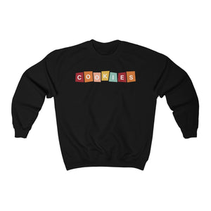 Cookies Color Block Gildan 18000 Unisex Heavy Blend™ Crewneck Sweatshirt