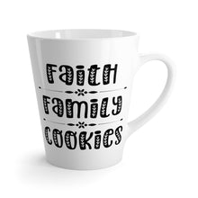 Load image into Gallery viewer, Faith Family Cookies Latte Mug