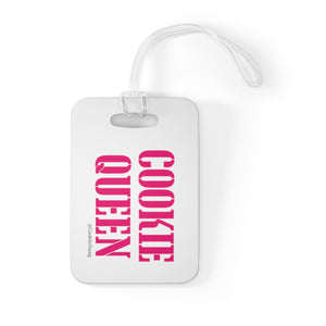 Cookie Queen Bag Tag