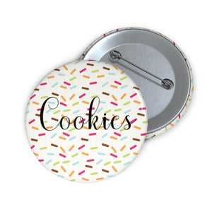 Cookies with Sprinkles Pin Button