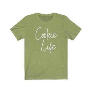 Cookie Life Bella+Canvas 3001 Unisex Jersey Short Sleeve Tee