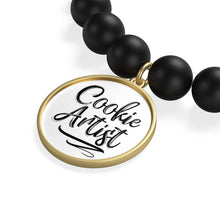Load image into Gallery viewer, Cookie Artist Matte Onyx Bracelet